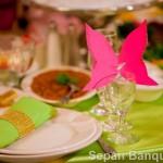 Sepan Banquet Hall Menu Package