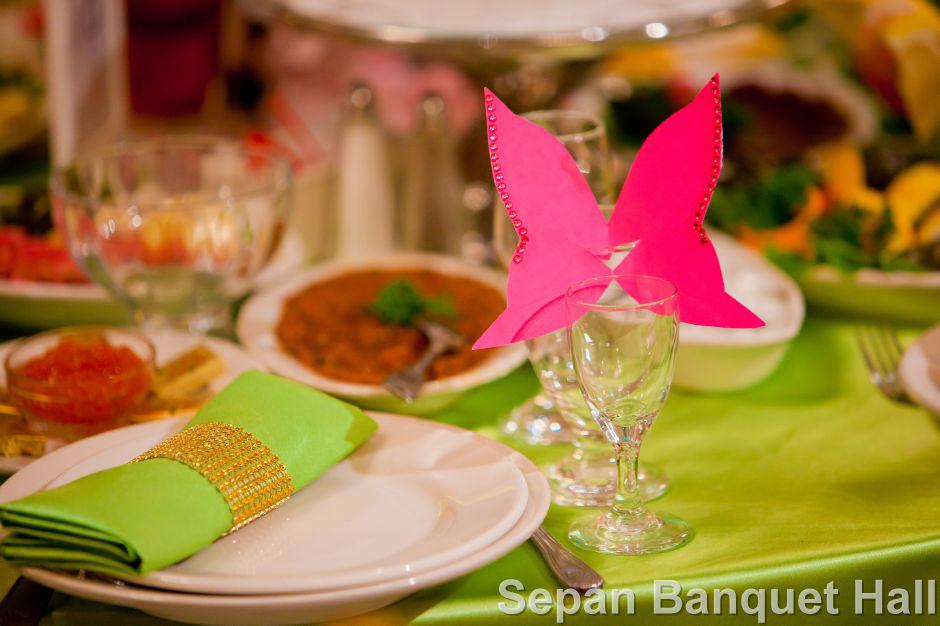 Menu Package at Sepan Banquet Hall